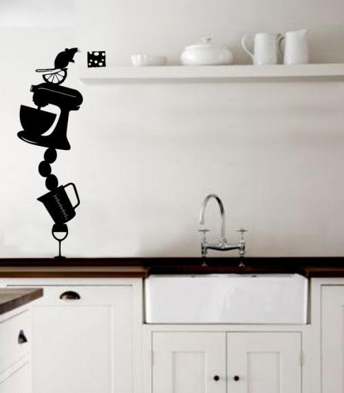 Wall Decals Kitchen Modern Home Design And Decor