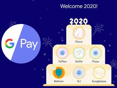 Google Pay 2020 Stamp - Complete Cake & Win Rs.202 to Rs.2020