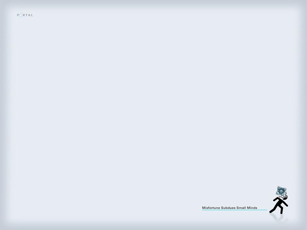 Wallpaper - Portal - The Game 1024x768 800x600