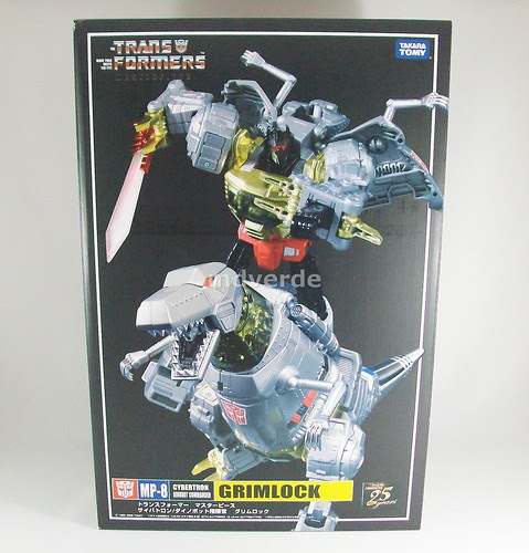 Transformers Grimlock Masterpiece - caja