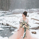 32 Gorgeous Snowy Winter Wedding Dresses   Weddingomania