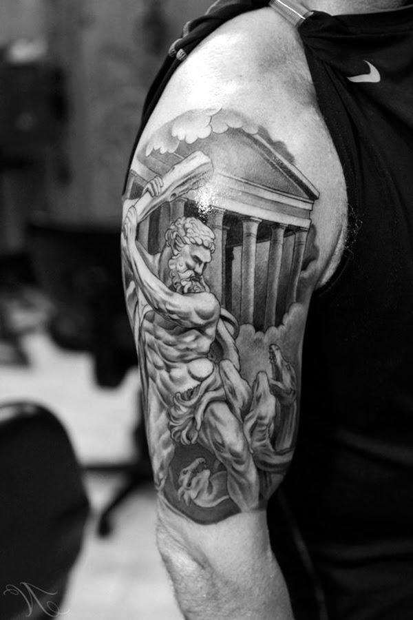 Valiant Gladiator Tattoo Designs (8)
