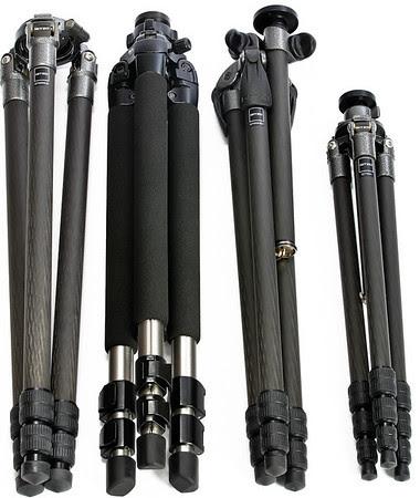 Gitzo GT3530LS, Silk 700DX, Gitzo GT2531EX & GT1541 Tripods