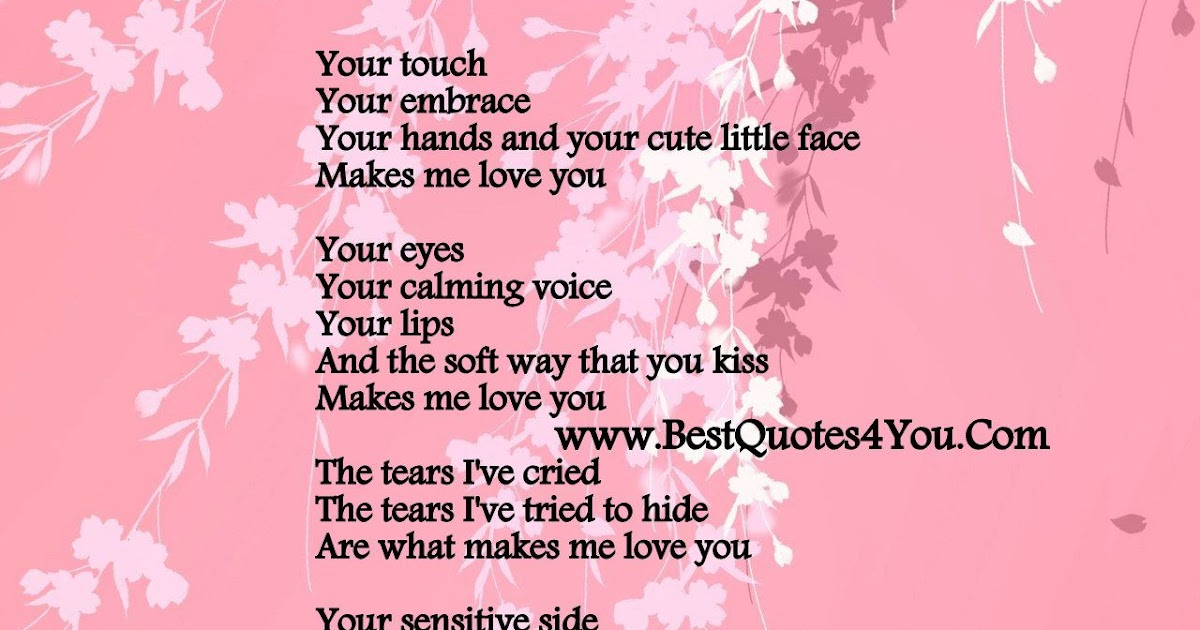 Unique Love Poems and Quotes for Your Boyfriend   Love
