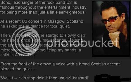 Bono is an Evil Bastard