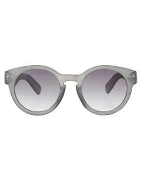 Image 2 ofASOS Grey Keyhole Sunglasses