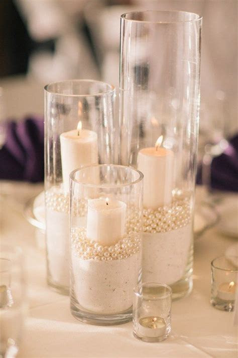 Best 25  Candle centerpieces ideas on Pinterest   Wedding