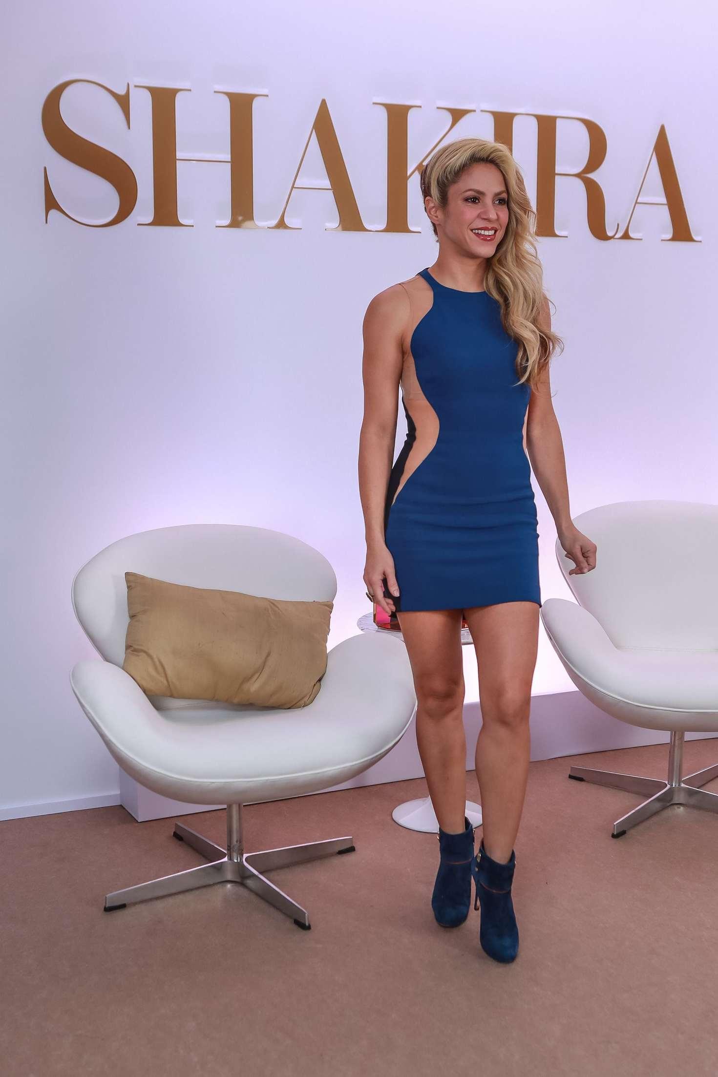 Shakira At Her New Fragrance Line Dance In Sao Paulo  Indian Girls Villa -9927