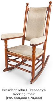 President John F. Kennedy's Rocking Chair