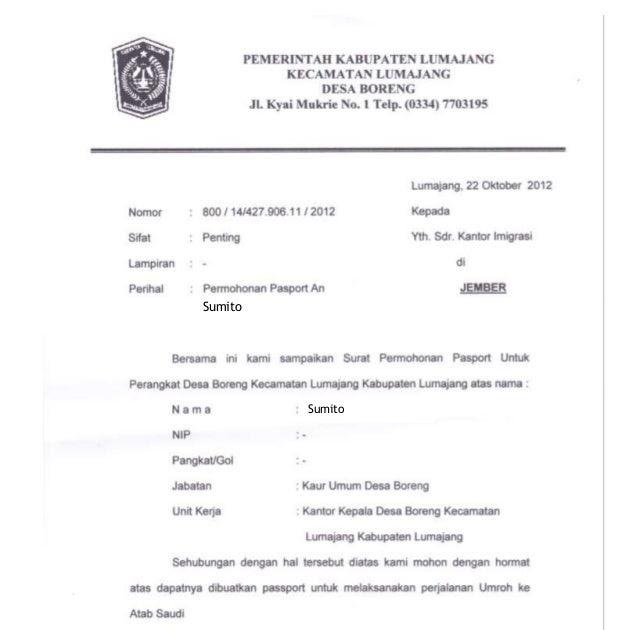 surat izin resmi dalam bahasa inggris arasmi