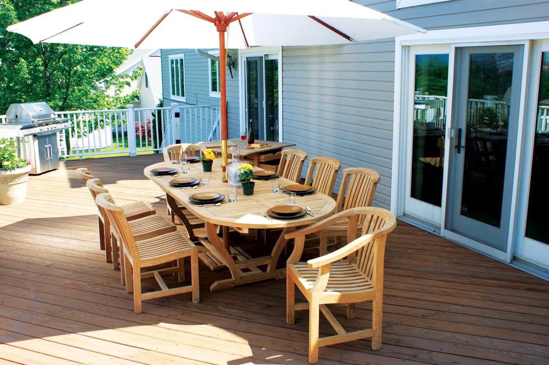 Karen Acacia Wood Outdoor Furniture Durability