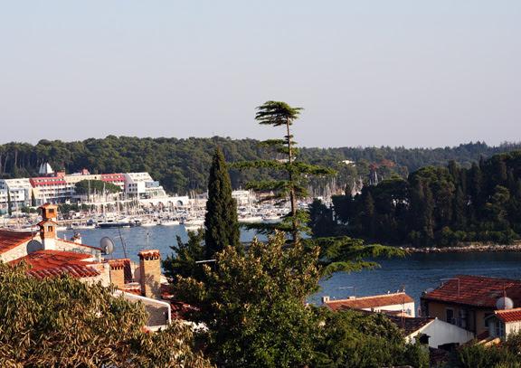 rovinj panorama-marina