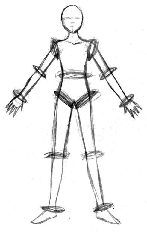 Travail sur les proportions du corps humain - SylvieS ou la passion du  dessin