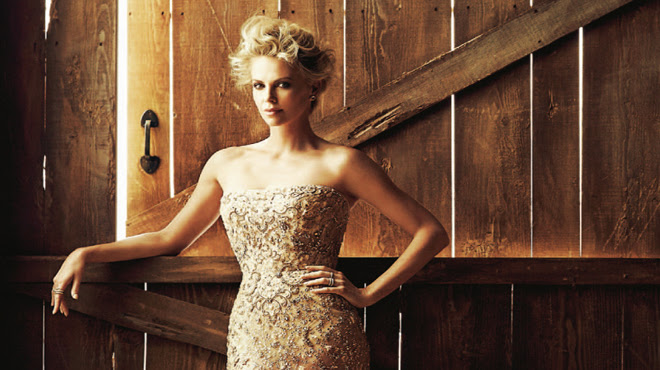 Charlize Theron, 'sheriff' de Hollywood en 'Dominical'.