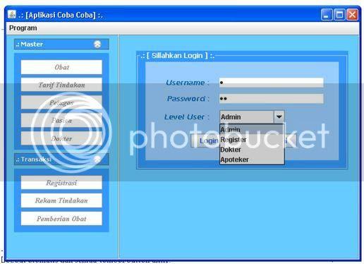 Java >> Membuat Login Multi User atau Multi Level User