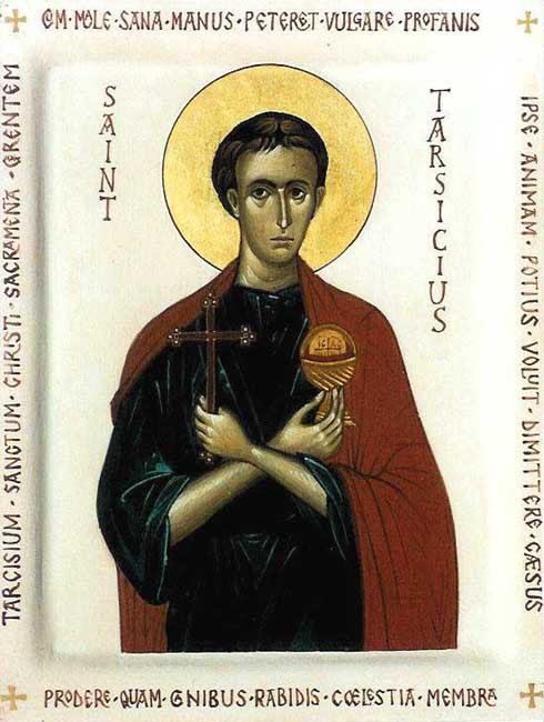 img ST. TARSICIUS, Martyr