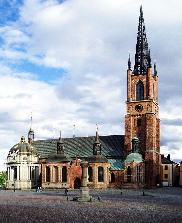 Riddarholmskyrkan från norr.