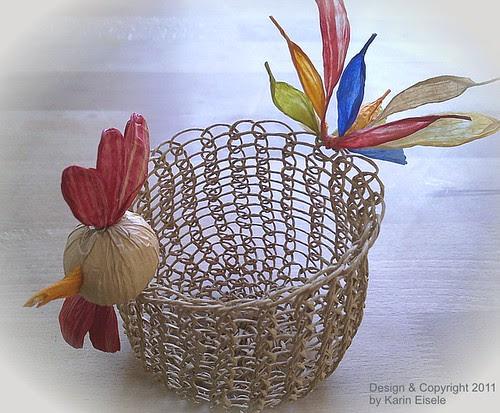 paper twine chicken basket
