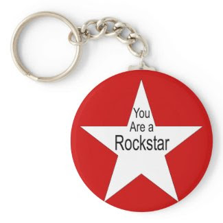 You are a Rockstar keychain