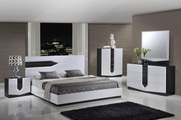 Large black modern bedroom sets Marble Area Rugs Lamp Bases Espresso Monarch Specialties Victorian Linen 634x422 15 Unique Bedroom Furniture Set to Inspire You