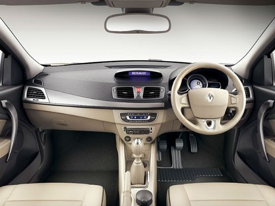 New Renault Fluence interior