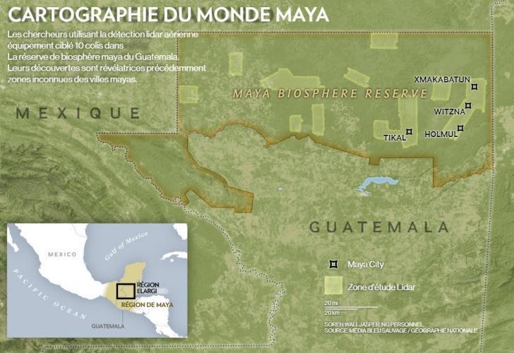Carte guatemala mexico 1