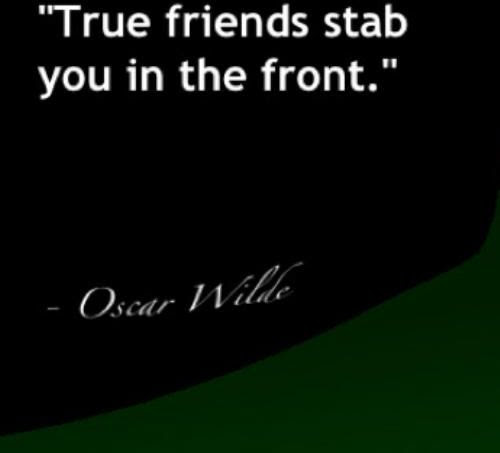 Friends That Stab You Quotes Quotes