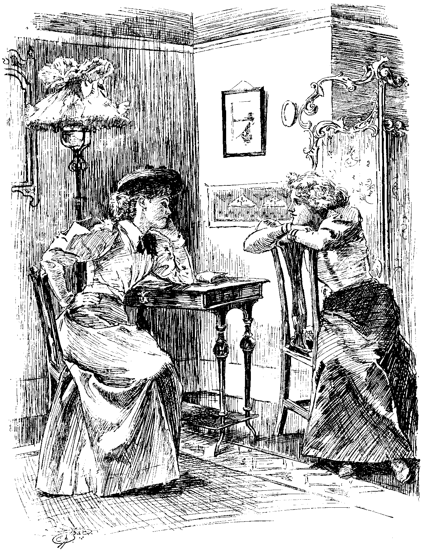 Gossiping Ladies Punch June 8, 1895