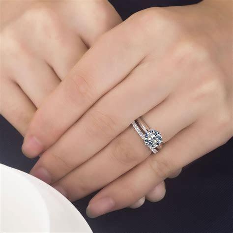 Unique Wedding Engagement Eternity Ring order   Matvuk.Com