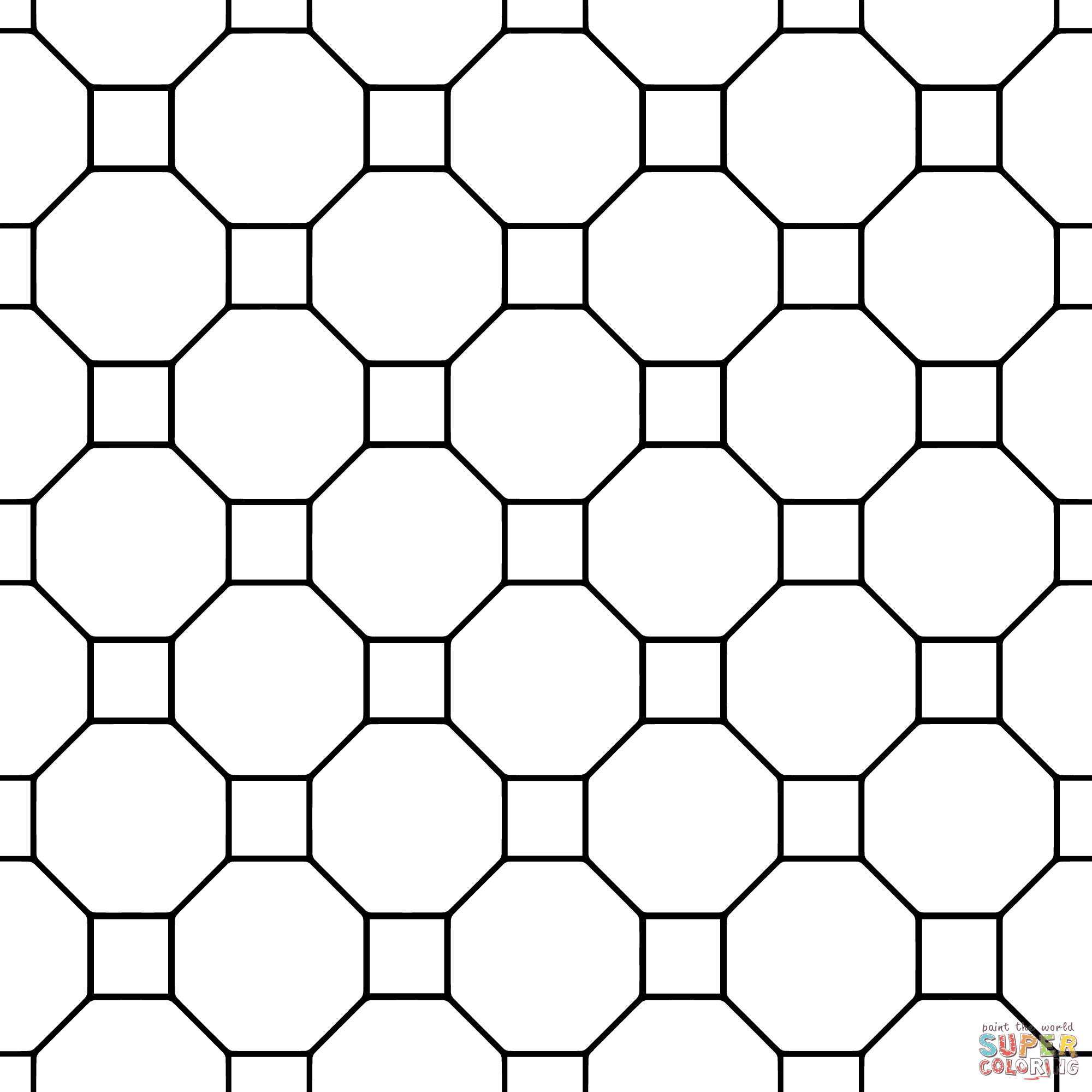 Printable Tessellation Patterns
