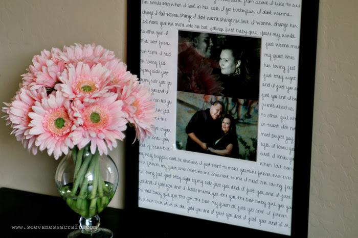 Diy Tutorial First Dance Wedding Gift Idea See Vanessa Craft