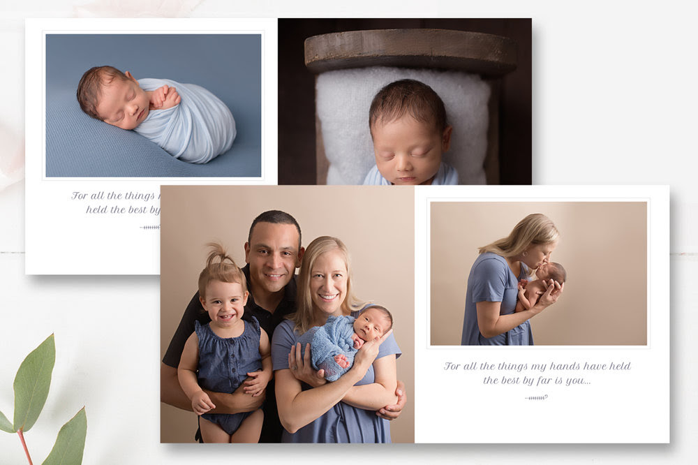 10x10 Baby Photo Book Template Baby First Year Photobook Template