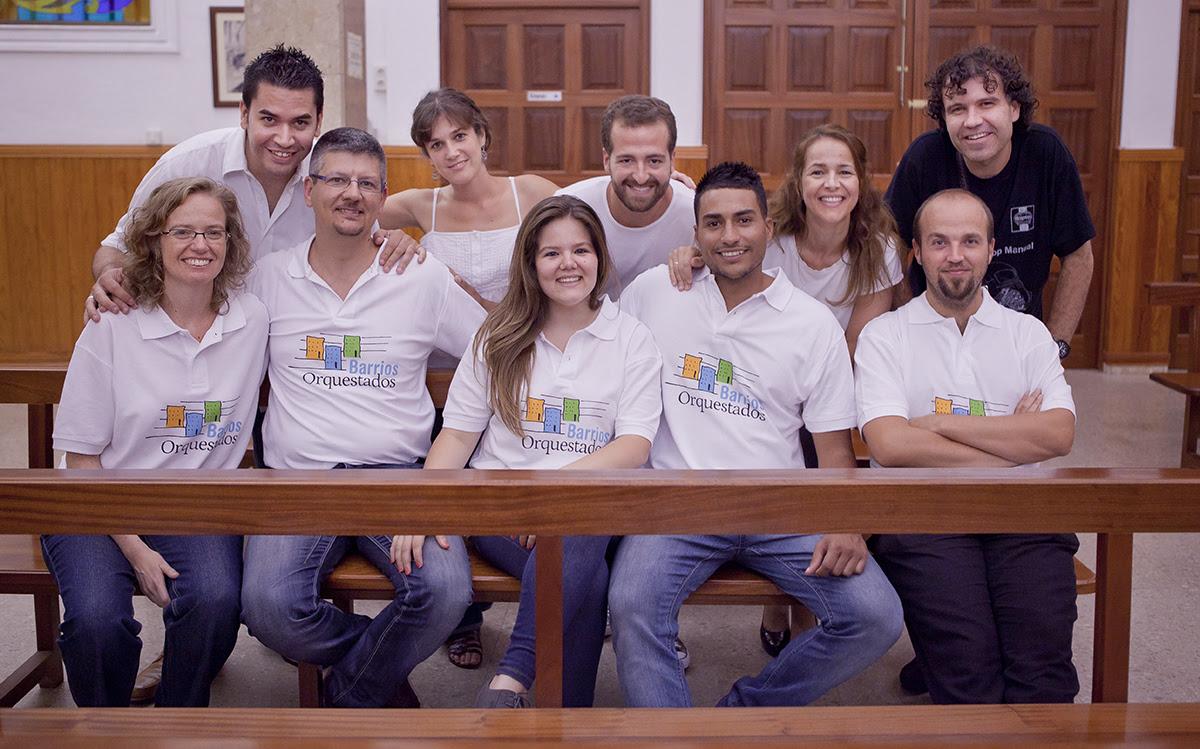 Equipo del proyecto Barrios Orquestados