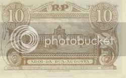 Verso da nota de 10 centavos de 1925 - Image hosted by Photobucket.com