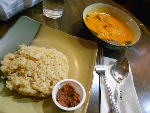 Fish Kare Kare with Brown Rice by Soul Shop