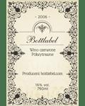 Etykiety Na Wino Domowe Własny Projekt Bottlabel Etykiety Na