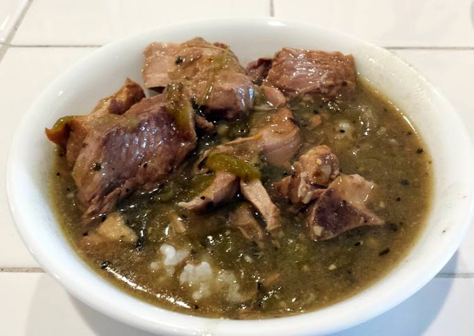 Like This Prepare Perfectly Chile Verde Crock Pot style Recipe