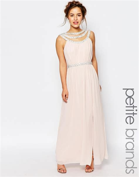 Lyst   Tfnc London Wedding Embellished Maxi Dress in Pink