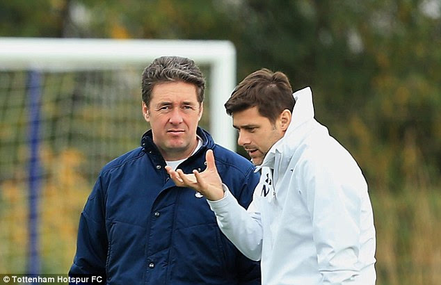 Pochettino enjoys a close working relationship with the club's academy manager, John McDermott
