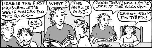 Home Spun comic strip #648