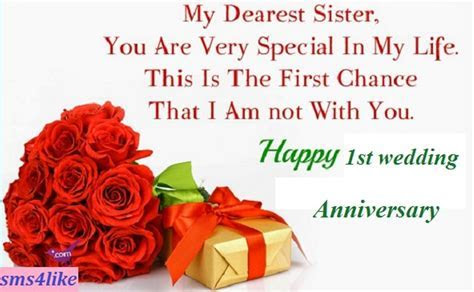 Anniversary Wishes For Sister   Wishes, Greetings