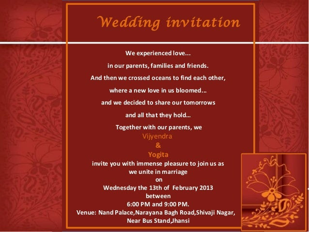 Expensive Wedding Invitation: Expensive Wedding Invitation For You: Hindu Wedding