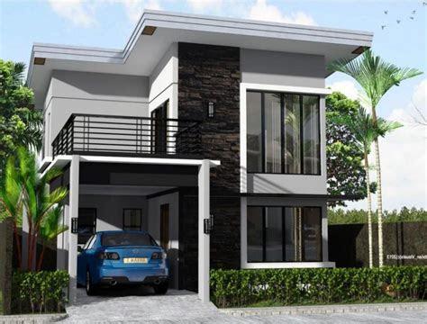 rumah minimalis dua lantai - desain rumah