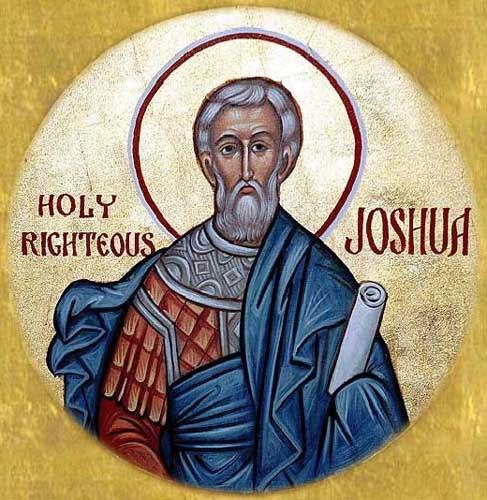 IMG ST. JESUS, Joshua, Son of Nun