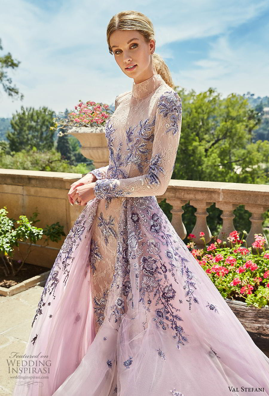 val stefani spring 2019 wedding dresses  wedding inspirasi