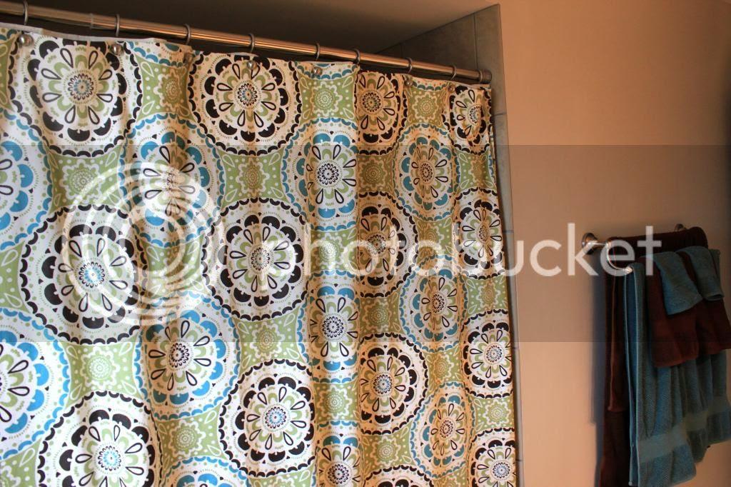 Threshold Target Shower Curtain