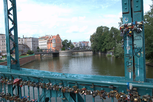 Romantic bridge Wroclaw by CapoVincent