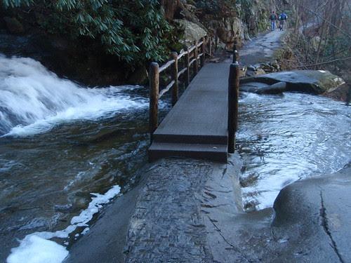 bridge over laurel falls