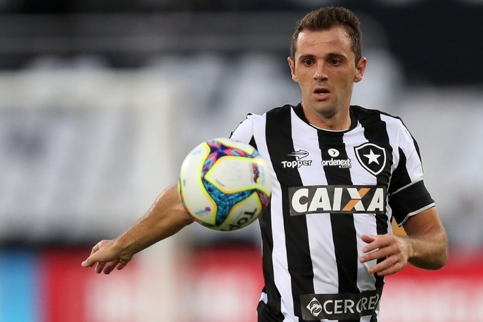 Montillo em uma de suas partidas com a camisa do Botafogo (Foto: Reprodução/Twitter)