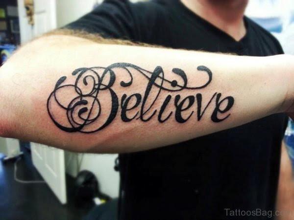 105 Brilliant Wording Tattoos On Arm